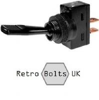 Black Toggle Switch - ON / OFF - 12V 20A